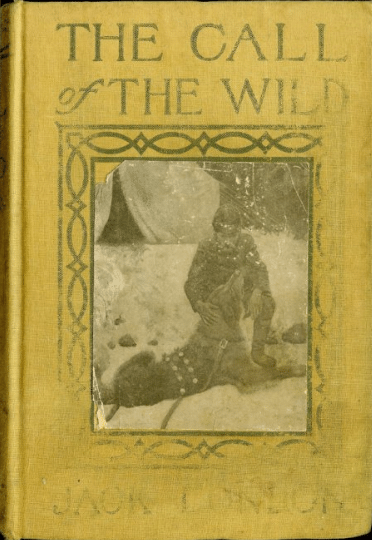"Book cover of ""The Call of the Wild"" by Jack London."