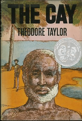 "Book cover of ""The Cay"" by Theodore Taylor."