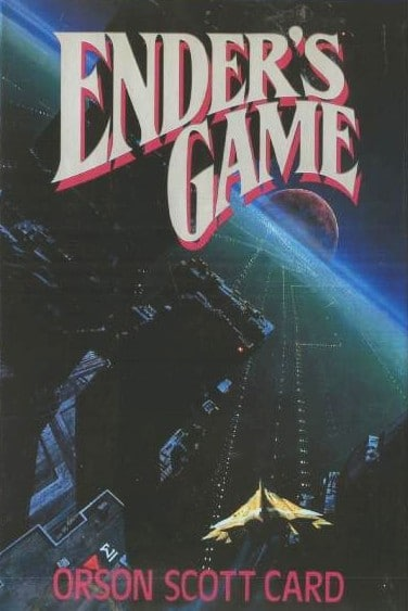 "Book cover of ""Ender's Game"" by Orson Scott Card."