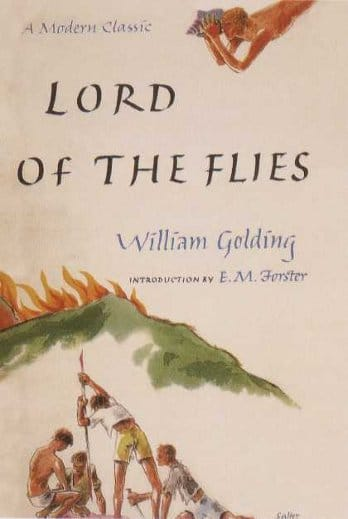 "Book cover of ""Lord Of The Flies"" by William Golding."
