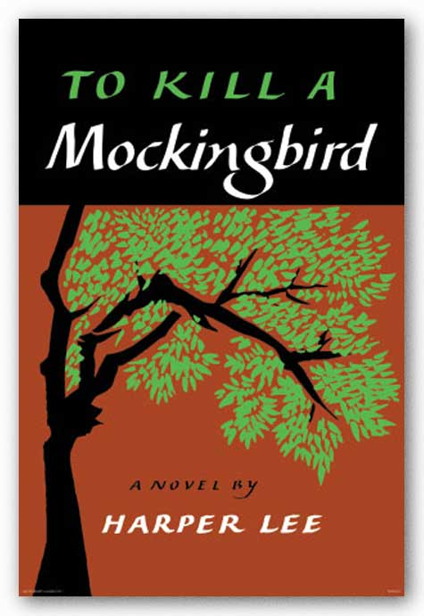 "Book cover of ""To kill a Mockingbird"" by Harper Lee."