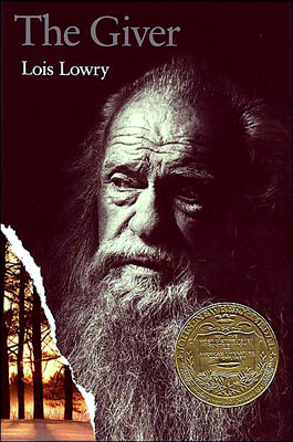 "Book cover of ""The Giver"" by Lois Lowry."