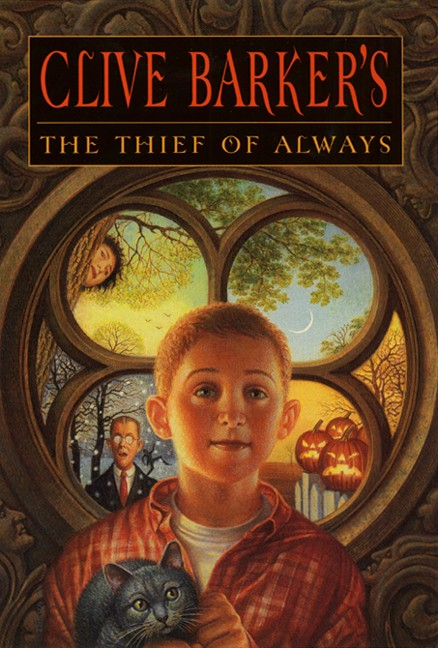"Book cover of ""The Thief of Always"" by Clive Barker's."