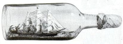 Ship in a bottle how to manly hobbies.