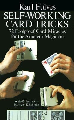 self working card tricks book cover karl fullness