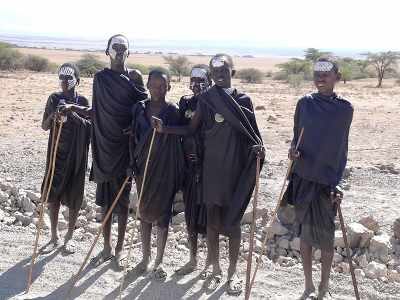 Maasai Warrior boys male rite of passage