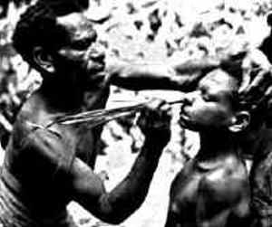 Sambia Papa New Guinea male rite of passage
