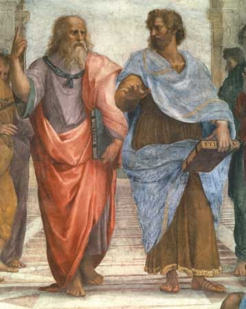 raphael philosophers painting ancient greece greek art
