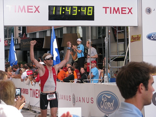 jim hodgson ironman athlete finished 11 hours 43 min