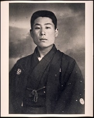 Chiune Sugihara young soldier portrait wwii hero