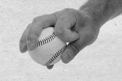 circle change up baseball how to grip vintage photo