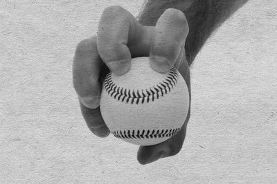 knuckleball baseball pitch how to grip vintage photo
