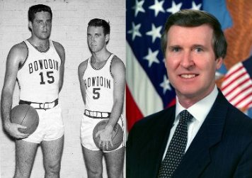 William Cohen basketball player politician portrait.