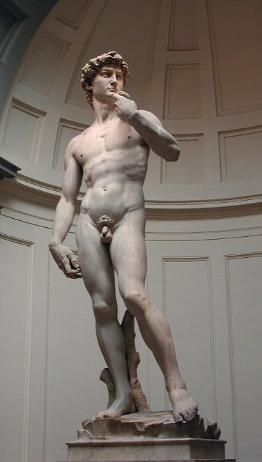 David sculpture by Michelangelo, 1504