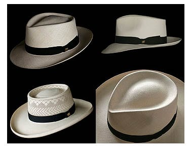 Panama Hats men's summer style fashion accessories