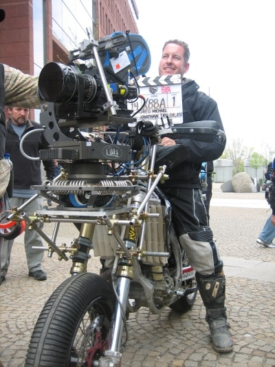 greg tracy stuntman camera bike gi joe movie