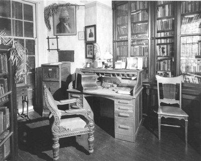 frederick douglass cedar hill library office desk and chair