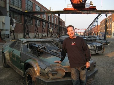greg tracy stuntman death race cars