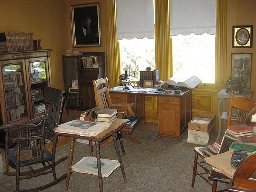 John Muir's study office  in Martinez California.