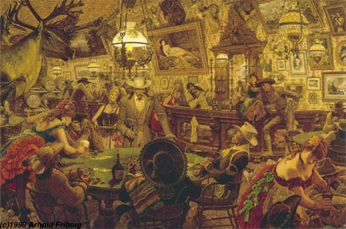 Arnold Friberg Most Famous Paintings The Art Of Manliness