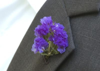 statice boutonniere