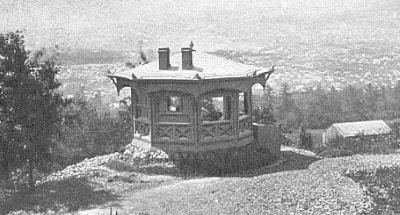 Mark twain's writing hut in New York.