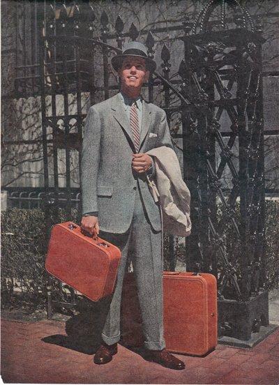 true magazine for men makeover suit hat