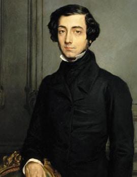 alexis de Tocqueville portrait painting