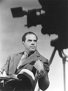 frank capra director chair writing notebook journal