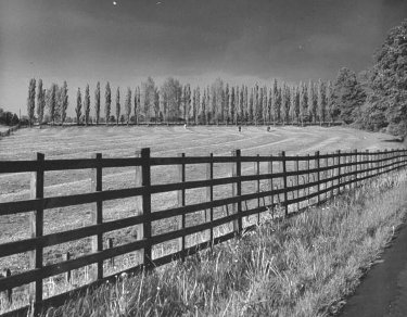 vintage pasture picket fence farmland