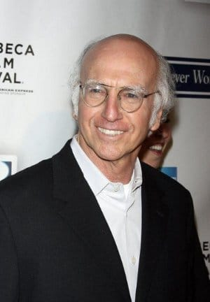 Larry David portrait.