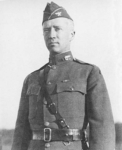 George Patton portrait.