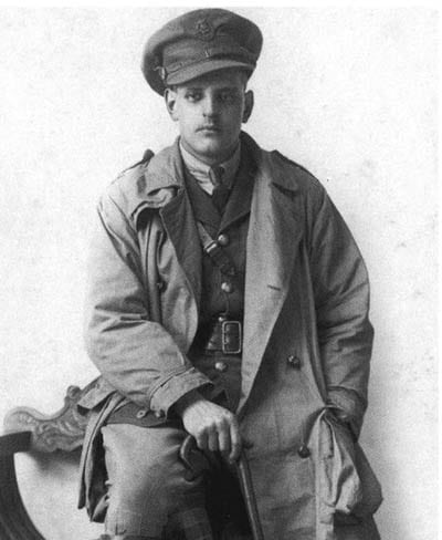 Trench Coat Soldier WWI