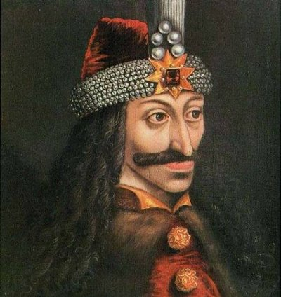 vlad the impaler painting mustache long hair