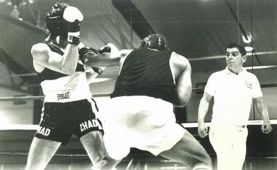 Amateur boxing pic
