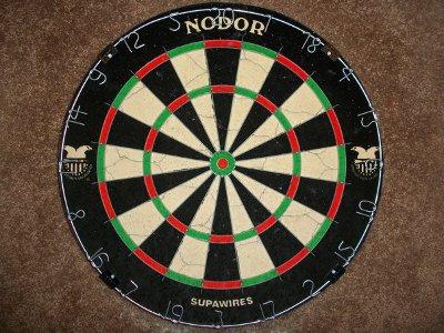dart board nodor supawires