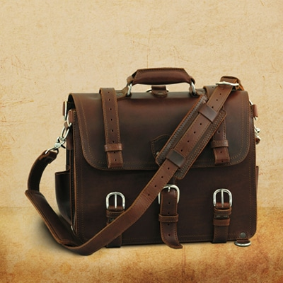 saddleback classic leather briefcase 100 year warranty guarantee