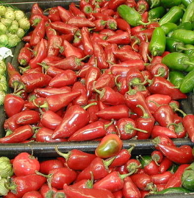 fresno peppers on store shelves