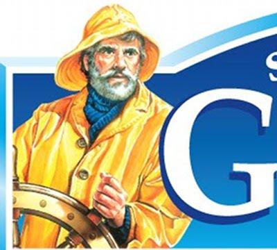 gortons fisherman yellow rain jacket vintage ad advertisement