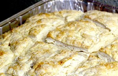 australian damper bread pan biscuit