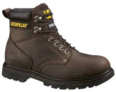 Caterpillar 2nd Shift Steel Toe work Boot
