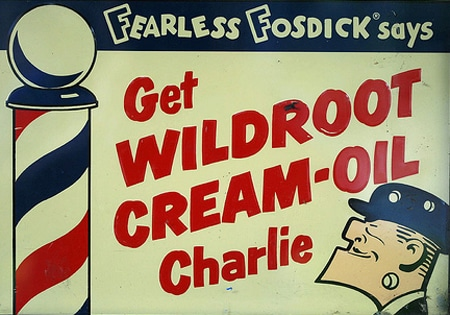 wildroot cream oil charlie vintage ad advertisement