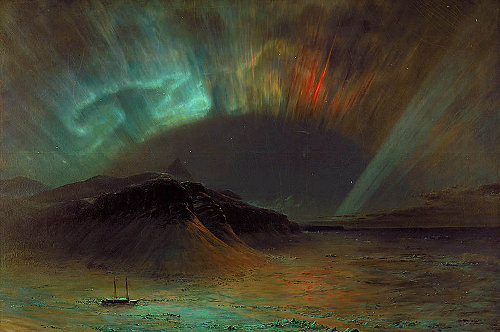 Aurora Borealis, by Frederic Edwin Church, 1865