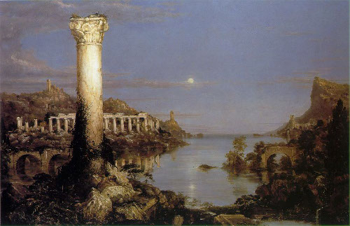 desolation romantic era period paintings
