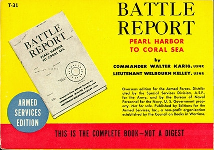 ASE book battle report pearl harbor walter kario
