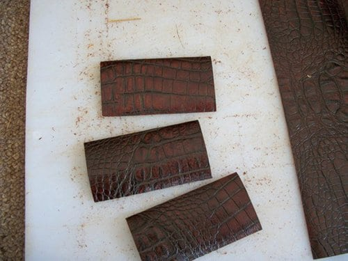 diy homemade leather wallet cowhide card pockets