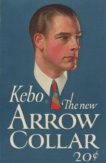 arrow collar man vintage ad advertisement