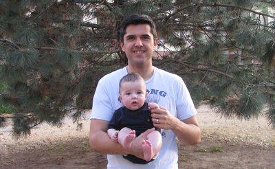 brett mckay holding son gus mckay art of manliness