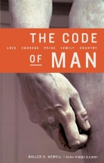 Book cover of The Code of Man by Waller Newell.