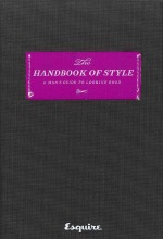 Book cover of Handbook of Style by Esquire.